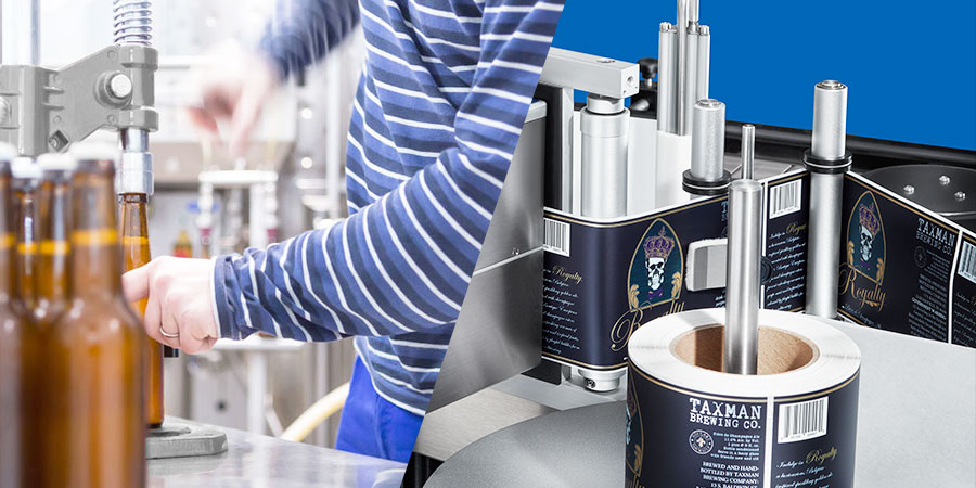 Hand Label Application vs Automatic Label Applicators